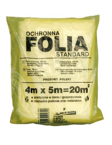 Folia malarska ochronna 4x5m VOREL 09462
