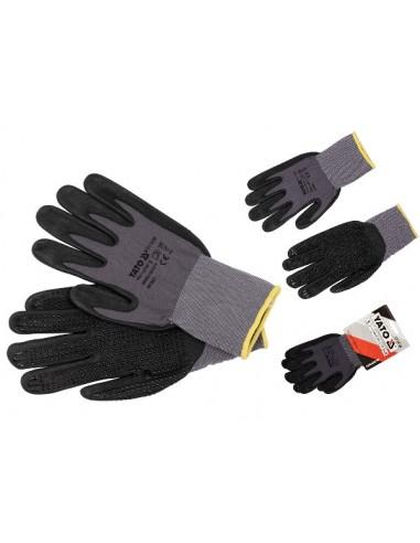 Rękawice ochronne antypoślizgowe...