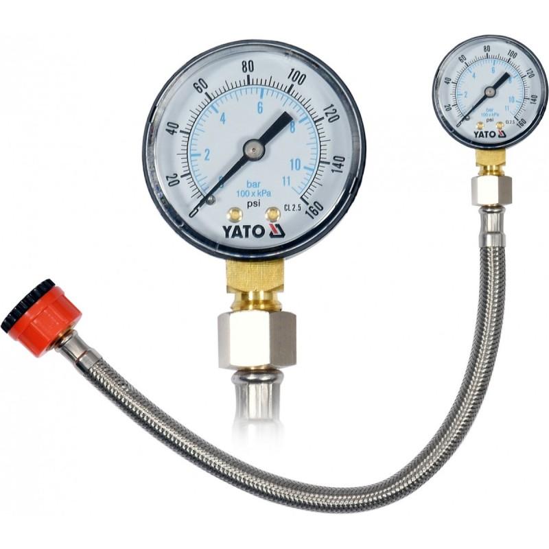 Miernik ciśnienia wody manometr YATO...